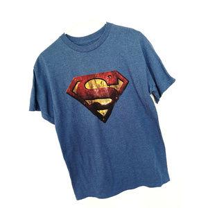 men Superman Tshirt M